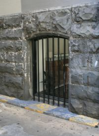 Window in Bluestone Wall